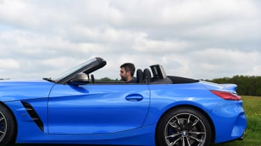 BMW Z4 M40i - roof open