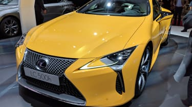 Lexus LC Limited Edition yellow front