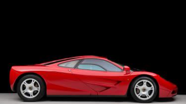 McLaren F1 side profile