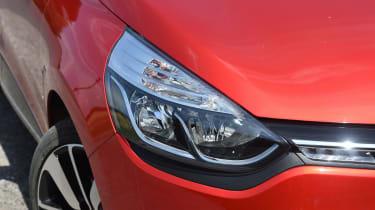 Renault Clio old vs new - Mk4 headlight