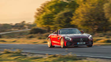Mercedes-AMG GTC Cabriolet - front panning