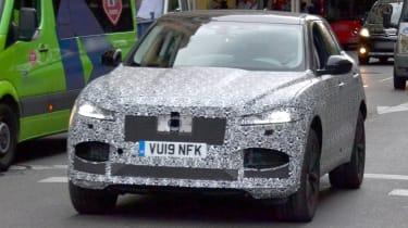 2020 Jaguar F-Pace spied - front