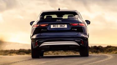 Jaguar F-Pace PHEV - rear cornering