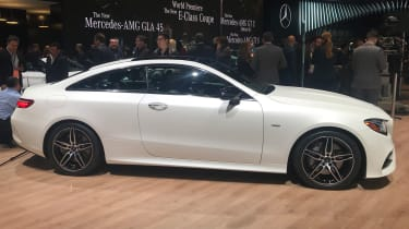 Mercedes E-Class Coupe - side