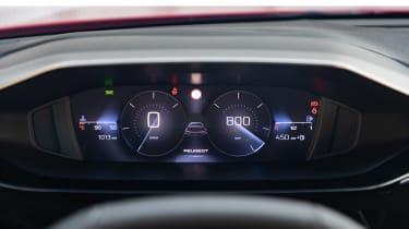 Peugeot 308 SW - dials