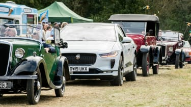 Jaguar I-Pace long termer - second report - village fete parade