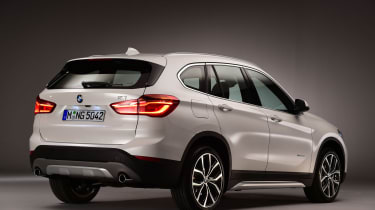 BMW X1 2015 rear