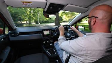 Renault Clio Long termer - driving