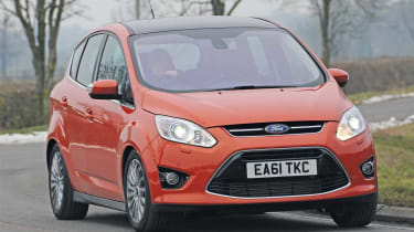Ford C-MAX front cornering