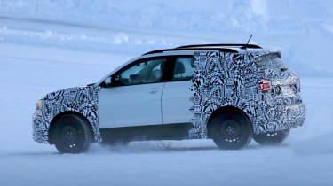 Volkswagen T-Cross - spy shot full side