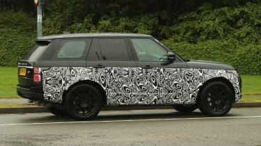 Range Rover - spyshot 4