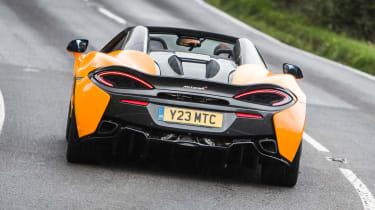 New McLaren 570S Spider - rear