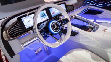Vision Mercedes-Maybach Ultimate Luxury concept - cabin