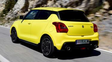Suzuki Swift Sport - rear action