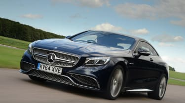 Mercedes S65 AMG tracking