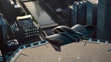 Porsche flying car