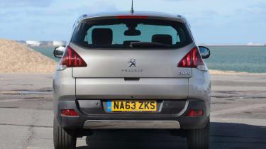 Used Peugeot 3008 - full rear