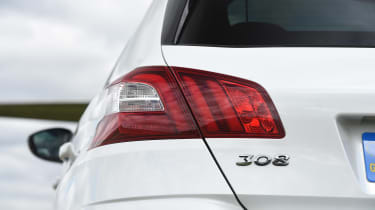Peugeot 308 GTi - rear light detail