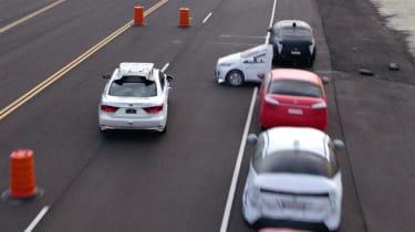 Toyota Guardian - side crash