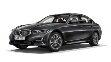 BMW 3 Series - front static grey