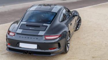 RM Sotheby's 2017 Paris auction - 2016 Porsche 911 R rear