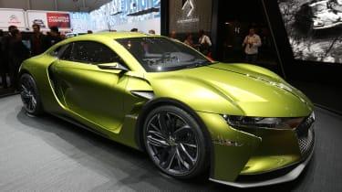 DS E-Tense concept car - Geneva 2016 - side profile