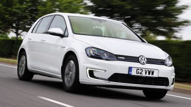 Used Volkswagen e-Golf - front