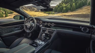 Bentley Flying Spur - interior
