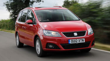SEAT Alhambra - front tracking
