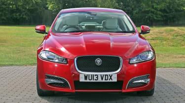 Used Jaguar XF - full front