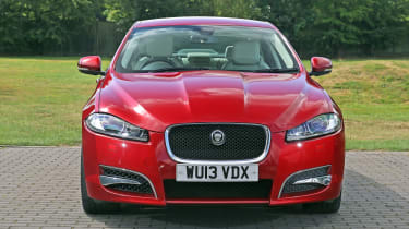 Used Jaguar XF - full front