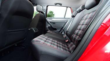 Volkswagen Golf GTI Performance Pack - rear seats