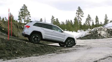 Jeep Grand Cherokee off-road