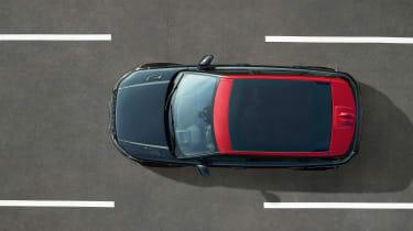 Range Rover Evoque Ember above