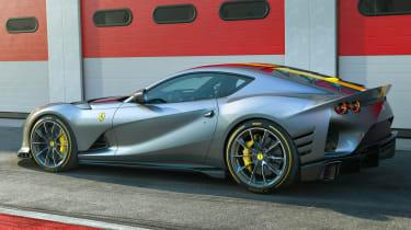 Ferrari 812 Competizione - rear