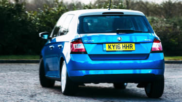 Skoda Fabia Colour Edition - rear