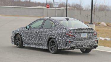 2022 Subaru WRX rear