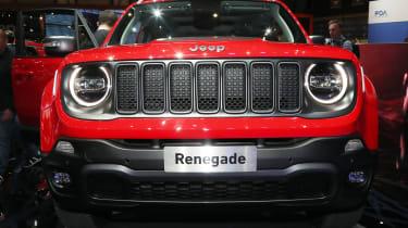 Jeep Renegade PHEV - Geneva full front