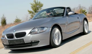 Front view of BMW Z4 Sport