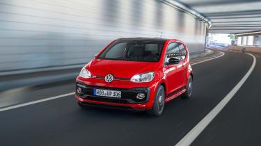 Volkswagen up! GTI - front panning
