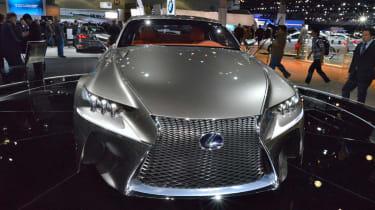 Lexus LF-CC head on