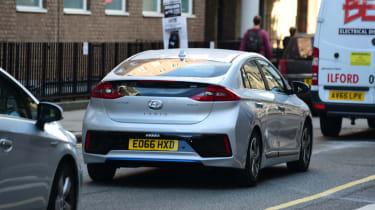 Driver Emotion Test - Hyundai Ioniq rear