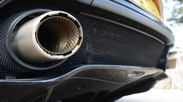 McLaren GT - exhausts