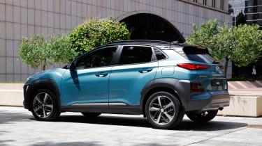 Hyundai Kona - rear static