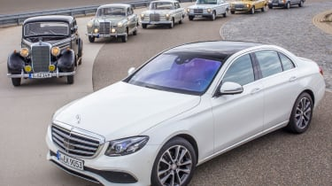 70 years of Mercedes E-Class - header