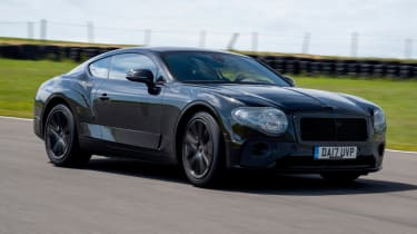 2017 Bentley Continental GT review - front
