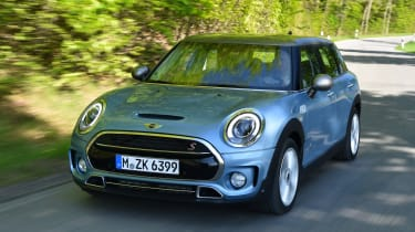 MINI Clubman ALL4 2016 - front tracking