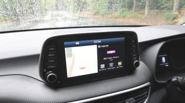 Hyundai Tucson - infotainment