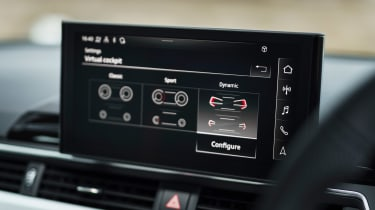 Audi A5 Sportback - infotainment screen
