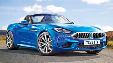 BMW Z4 - front (exclusive images)